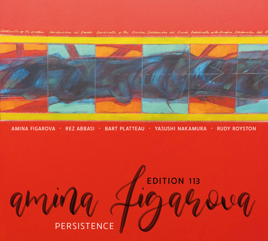 Cover AMINA FIGAROVA - Persistence