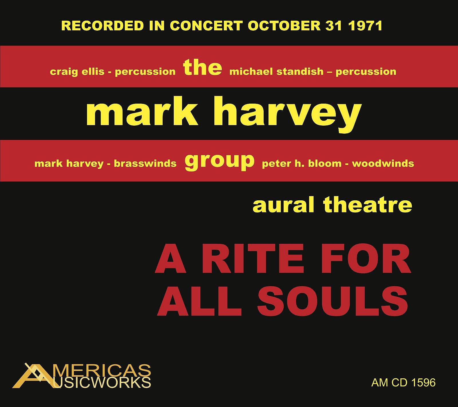 Harvey_A_Rite_For_All_Souls_1600pix Cover