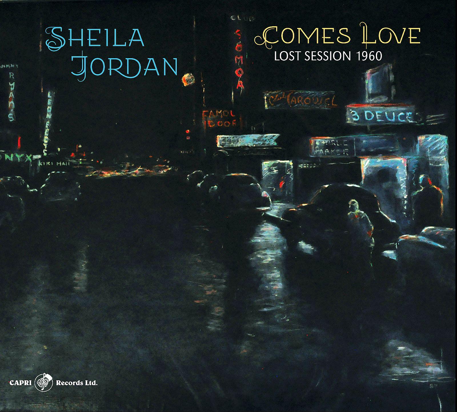 Sheila Jordan - Comes Love _ cover